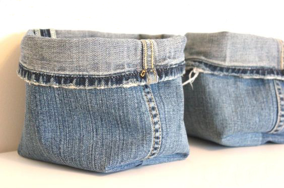 Upcycling jeans inspiration get on the trend for Jeans upcycling ideas