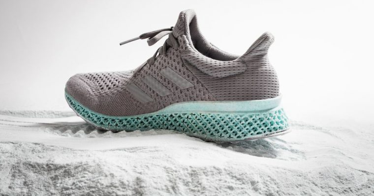 The recycled plastic sneaker by ADIDAS