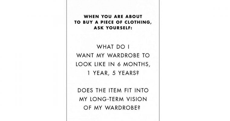 What is your perfect capsule wardrobe?