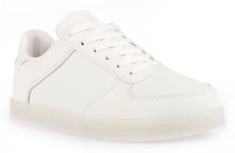 White trainers are the new black